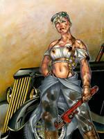 Steampunk Mechanic by RichardCox