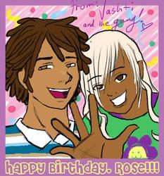 Happy Birthday Rose by celestialmaiden
