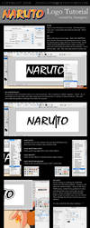 NARUTO LOGO Tutorial by Zuangster