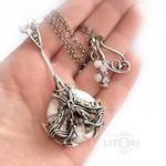 ARTEMIS- silver pendant