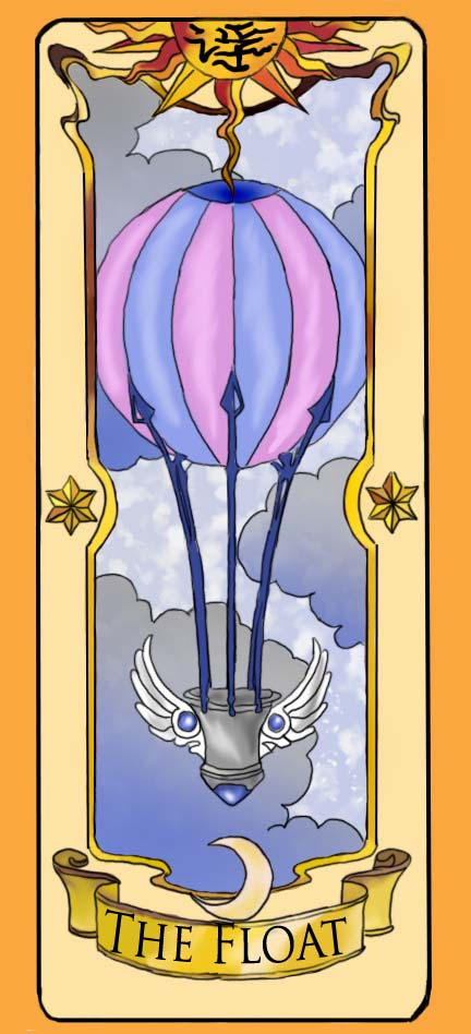Clow Card The Float by inuebony