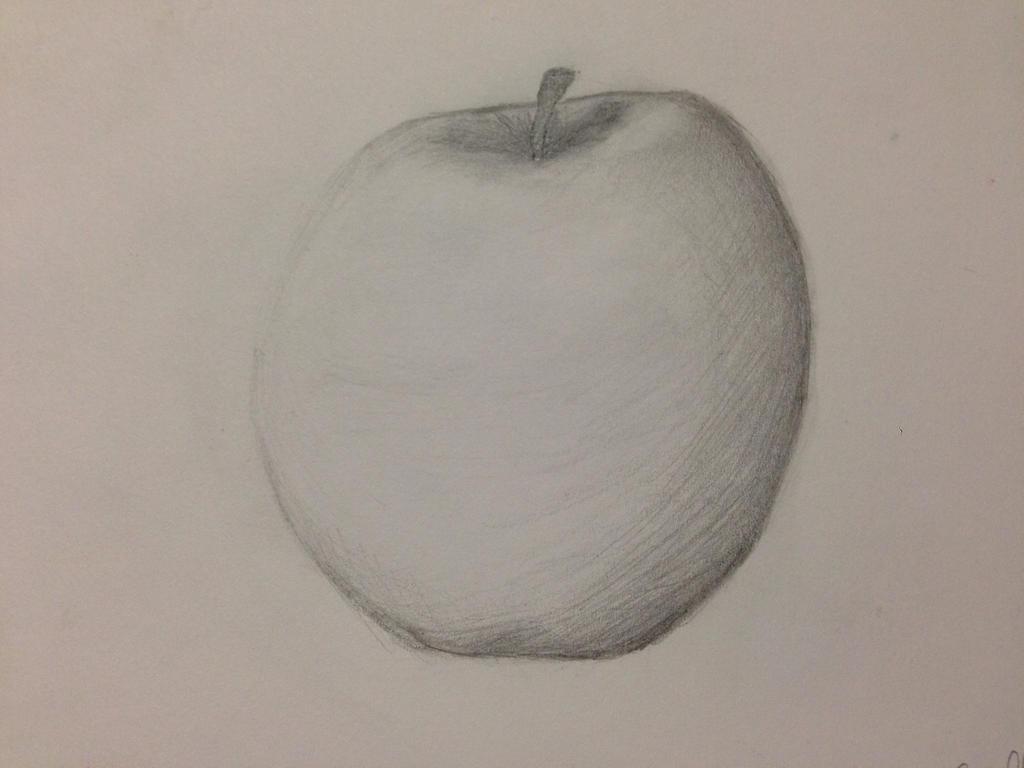 Apple pencil sketch by arielslr