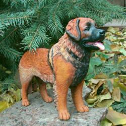 Leonberger Figurine by Kesa-Godzen