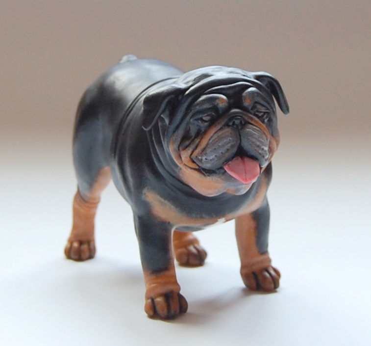 english bulldog figurine english bulldog figurine by kesa godzen on deviantart 9811