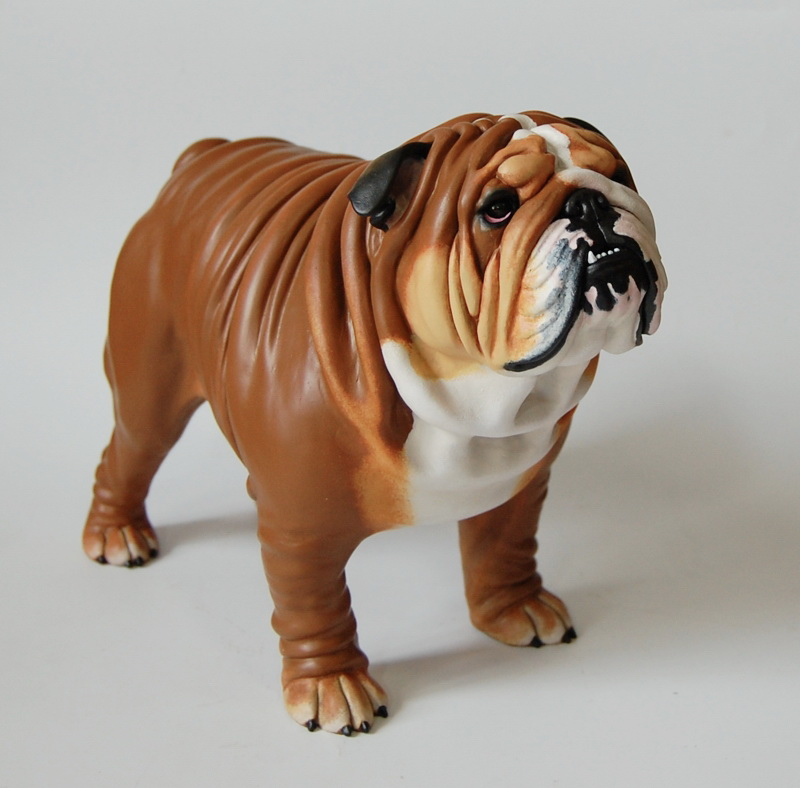 English Bulldog Sculpture by Kesa-Godzen on DeviantArt