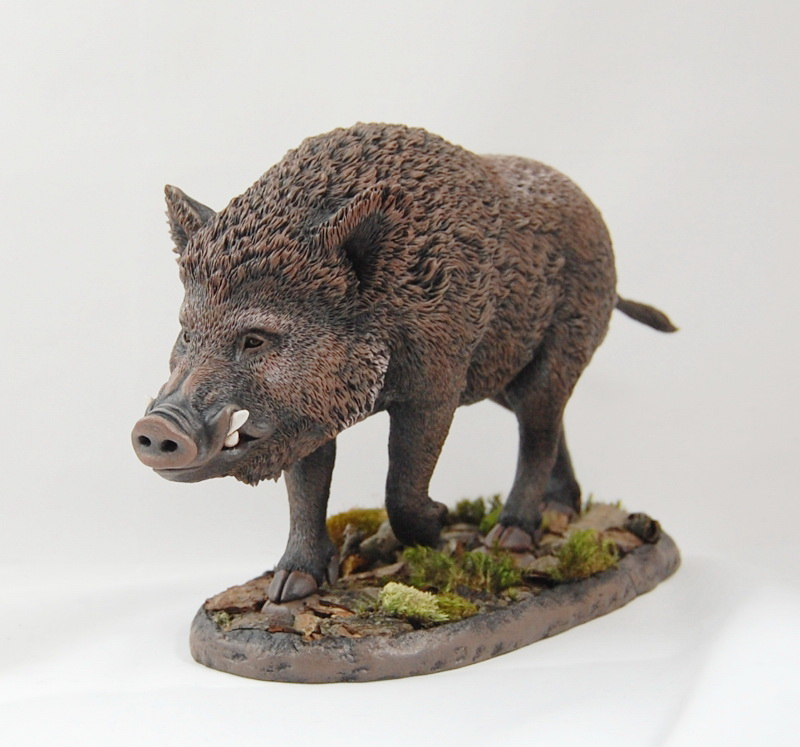 Wild Boar Figurine By Kesa Godzen On Deviantart