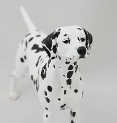 Dalmatain Figurine by Kesa-Godzen