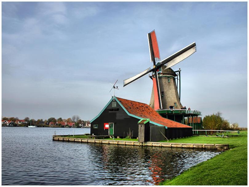 Windmill by j-adree