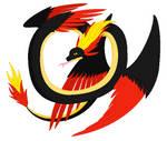 Poke-mythology - Quilava Quetzalcoatl