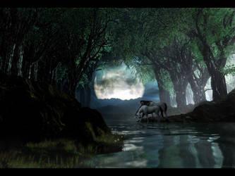 Unicorn Kiss by zilla774