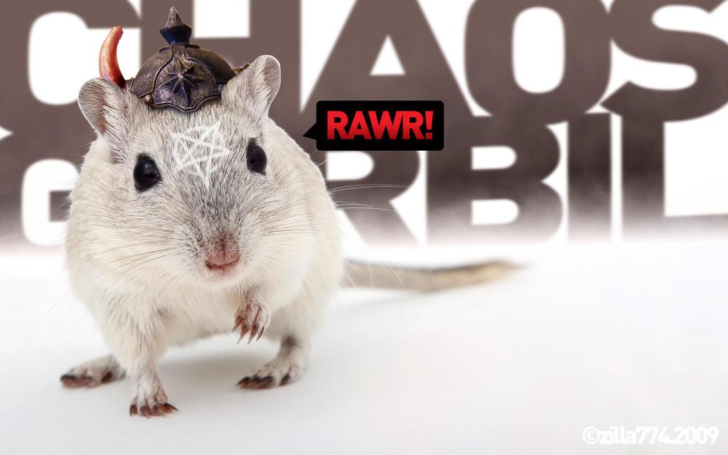 chaos gerbil RAWR by zilla774
