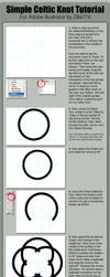 Celtic Knot Tutorial by zilla774