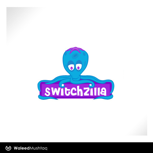 SwitchZilla Logo Design by J-a-z-z-z