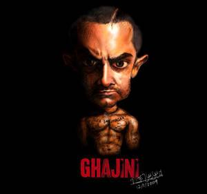 Aamir Khan Rendered Caricature