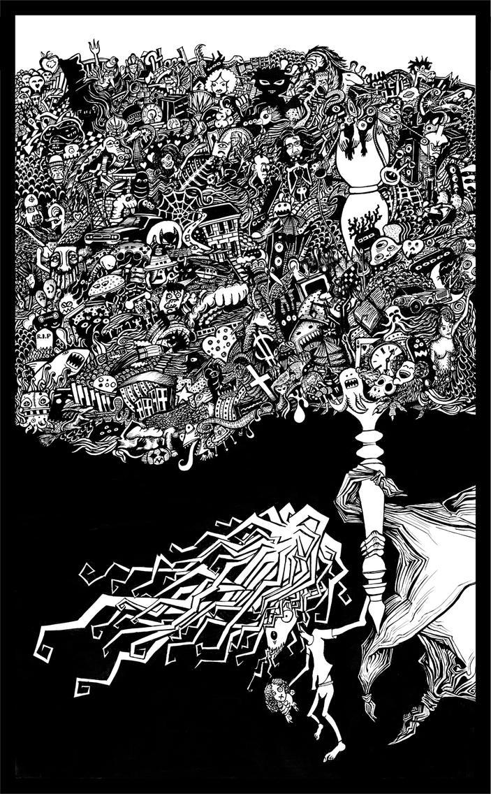 An Evil by J-a-z-z-z