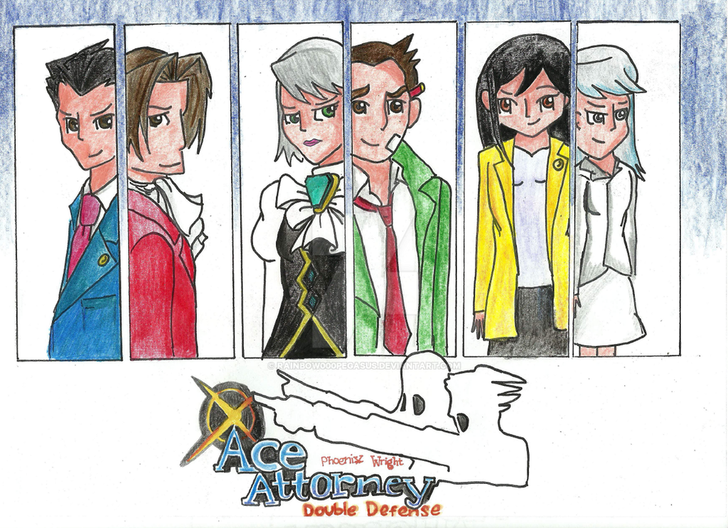 ace attorney double defense by rainbow000pegasus on