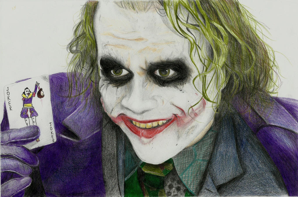 Joker card drawings