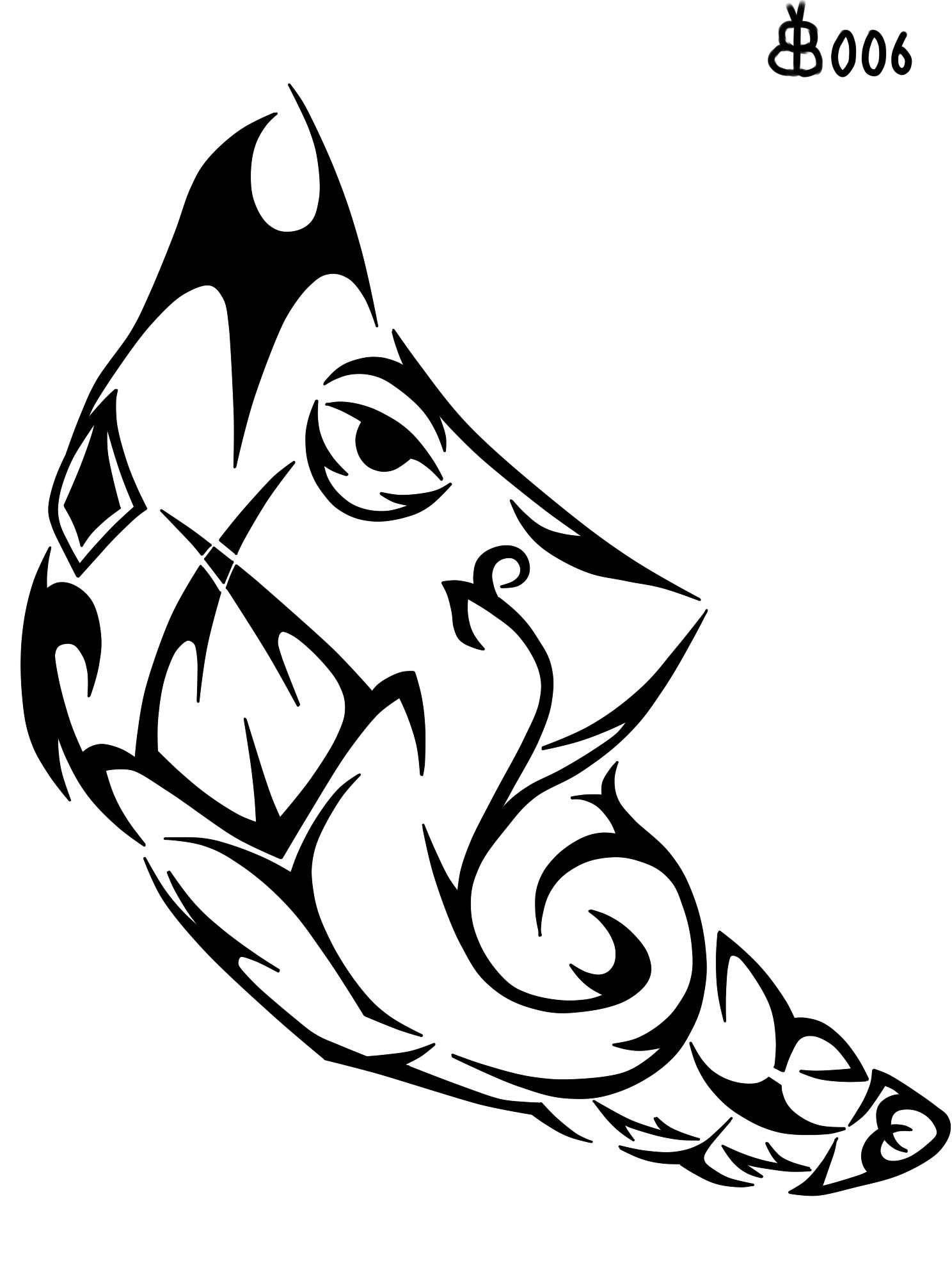 #011: Tribal Metapod by blackbutterfly006