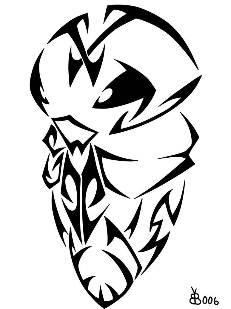 #014: Tribal Kakuna by blackbutterfly006