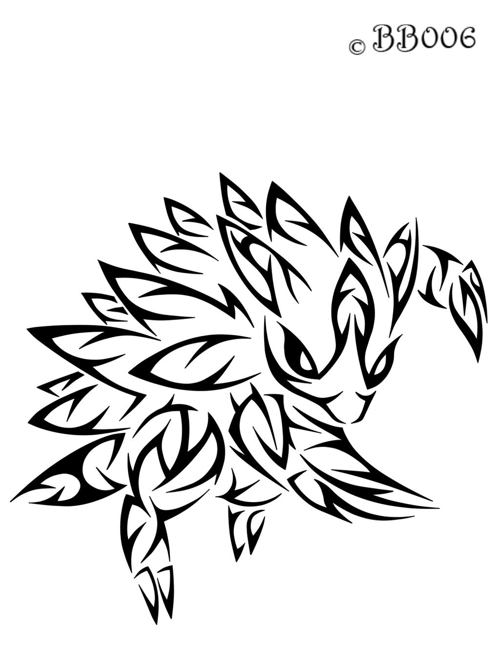#028: Tribal Sandslash by blackbutterfly006