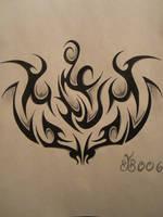 Tribal Tattoo Design by blackbutterfly006