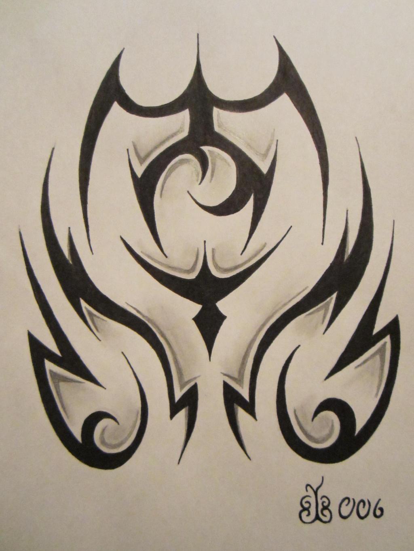 Tribal Tattoo Design 2 by blackbutterfly006