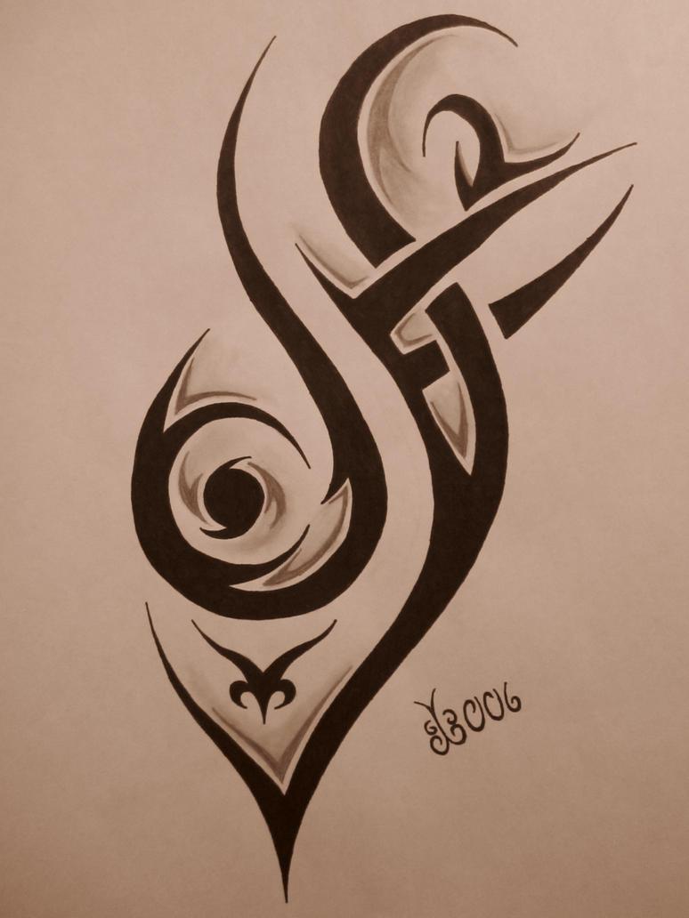 Tribal Tattoo Design 4 by blackbutterfly006