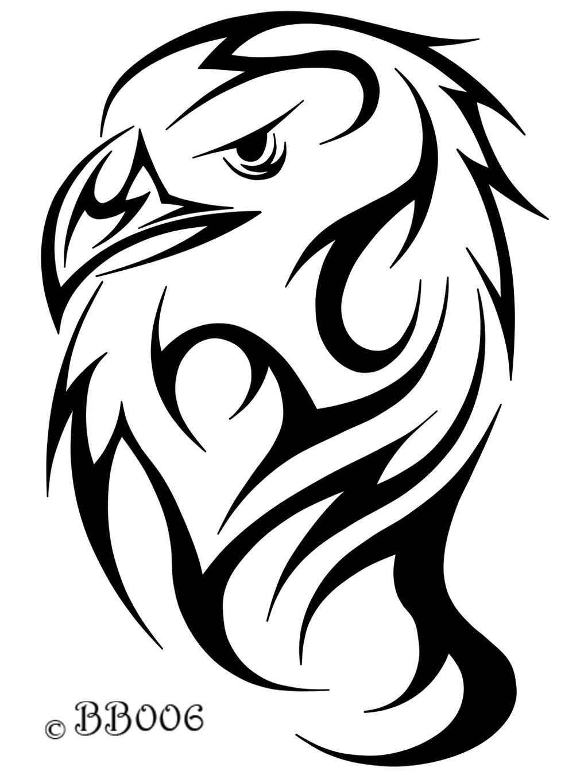 tribal eagle head by blackbutterfly006 on deviantart