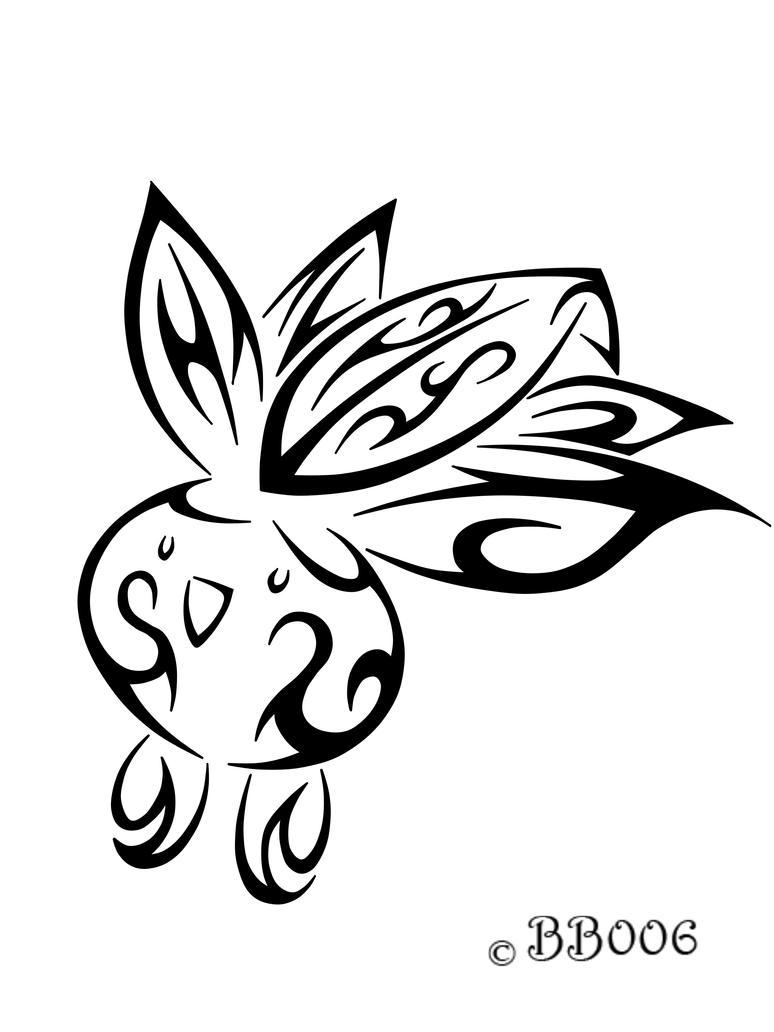 #043: Tribal Oddish by blackbutterfly006