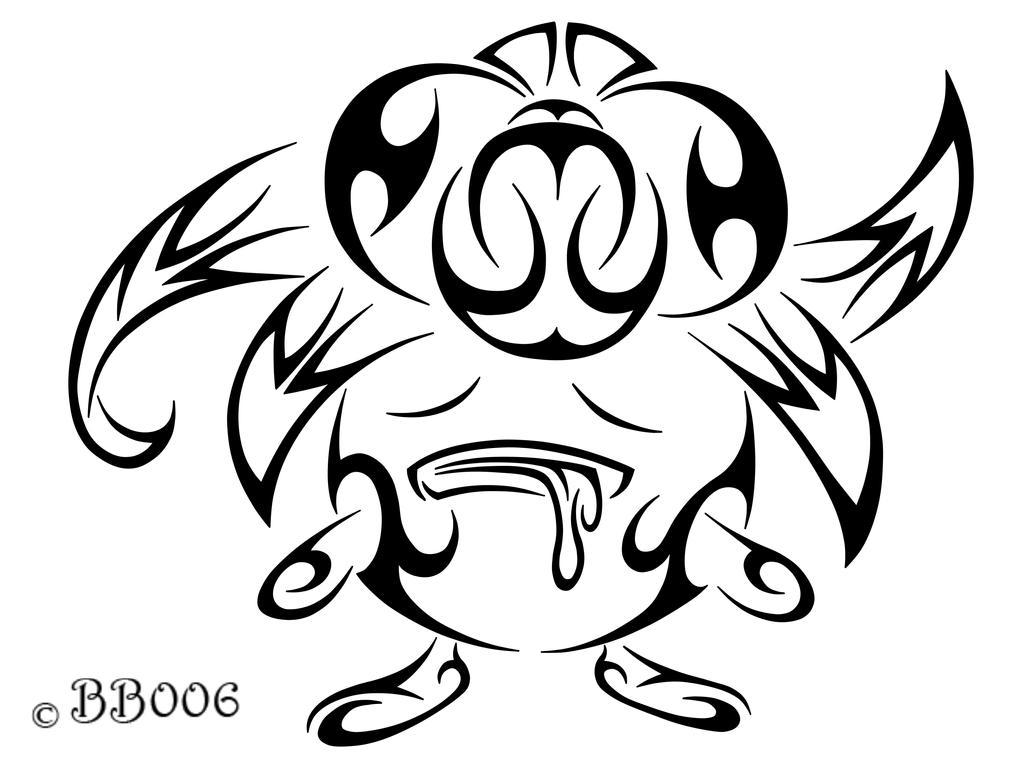 #044: Tribal Gloom by blackbutterfly006
