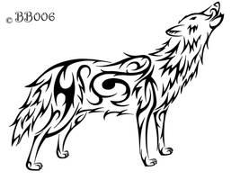Howling Wolf by blackbutterfly006