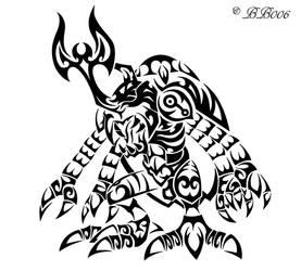 Tribal Megakabuterimon by blackbutterfly006