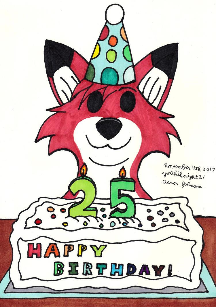 Happy 25th Birthday By Yoshiknight2 On Deviantart