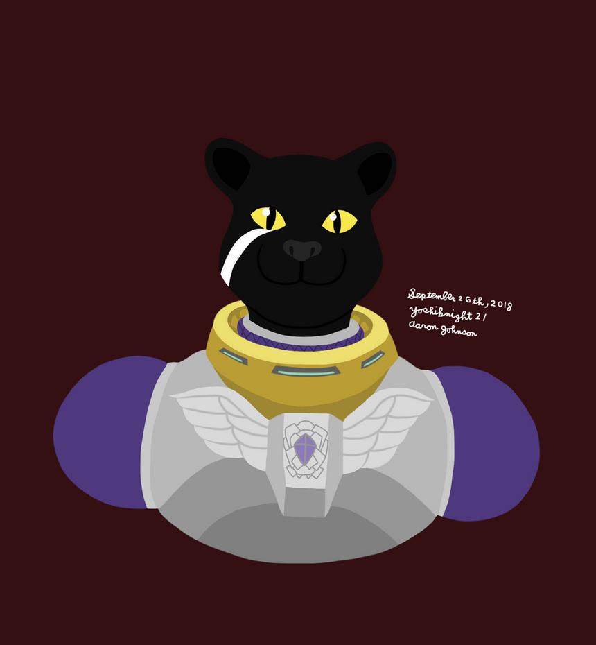 Panther Caroso (Star Fox) by Yoshiknight2
