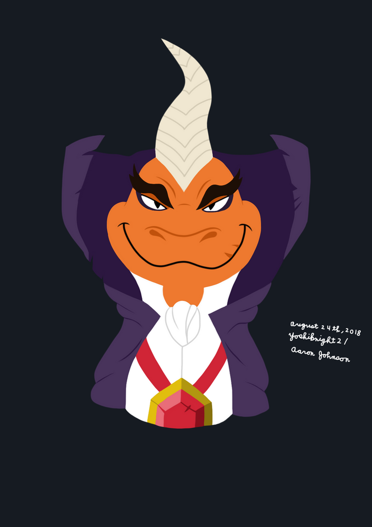 Ripto (Spyro) by Yoshiknight2