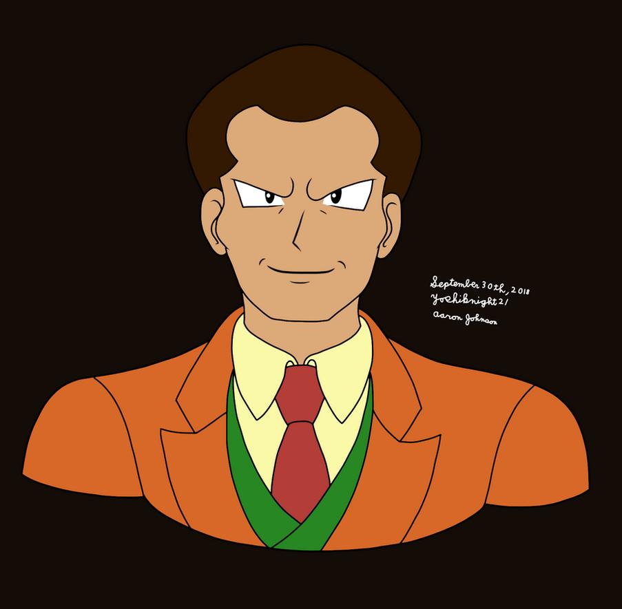 Giovanni (Pokmon) by Yoshiknight2