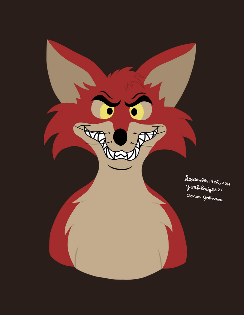 Foxy Loxy (Disney Classic Chicken Little) by Yoshiknight2