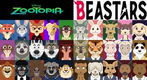 Zootopia And Beastars Portraits Profile ID 2020