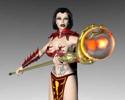 Fire's Sorceress