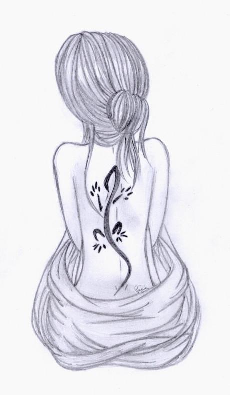 Nude II by lifeislikeajoke