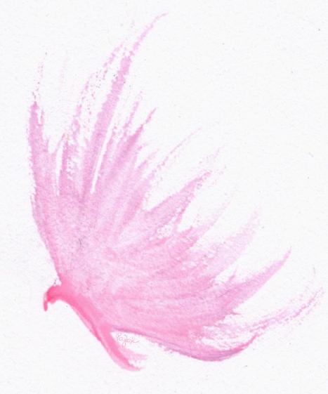 Pink butterfly by lifeislikeajoke