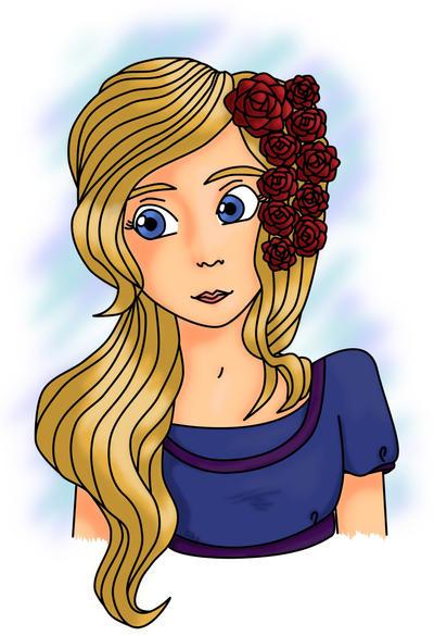 Roses In Hair by lifeislikeajoke