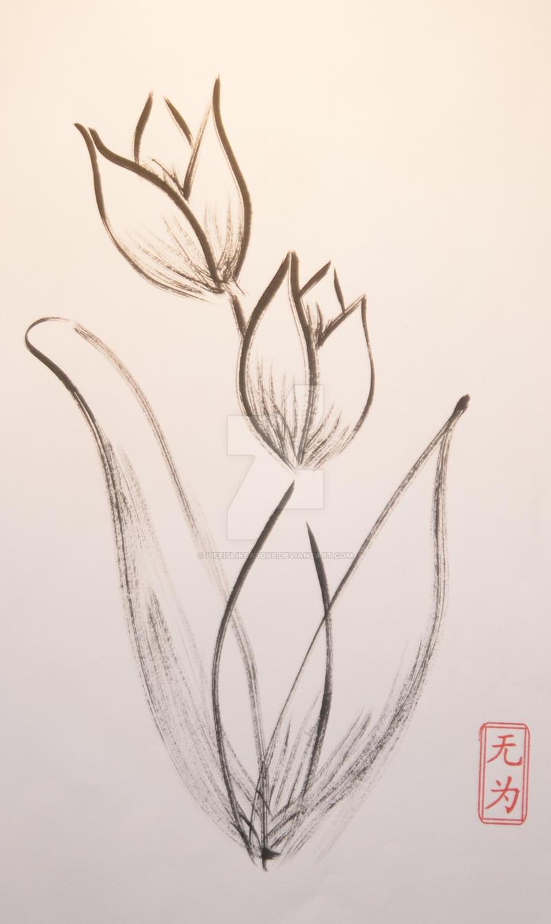 Flower (V) by lifeislikeajoke