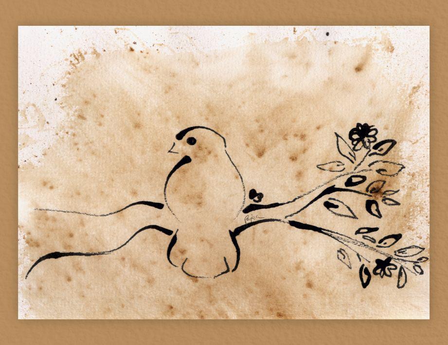 Coffe bird by lifeislikeajoke