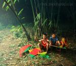 flying kites by randyrakhmadany
