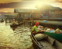Golden Morning by randyrakhmadany