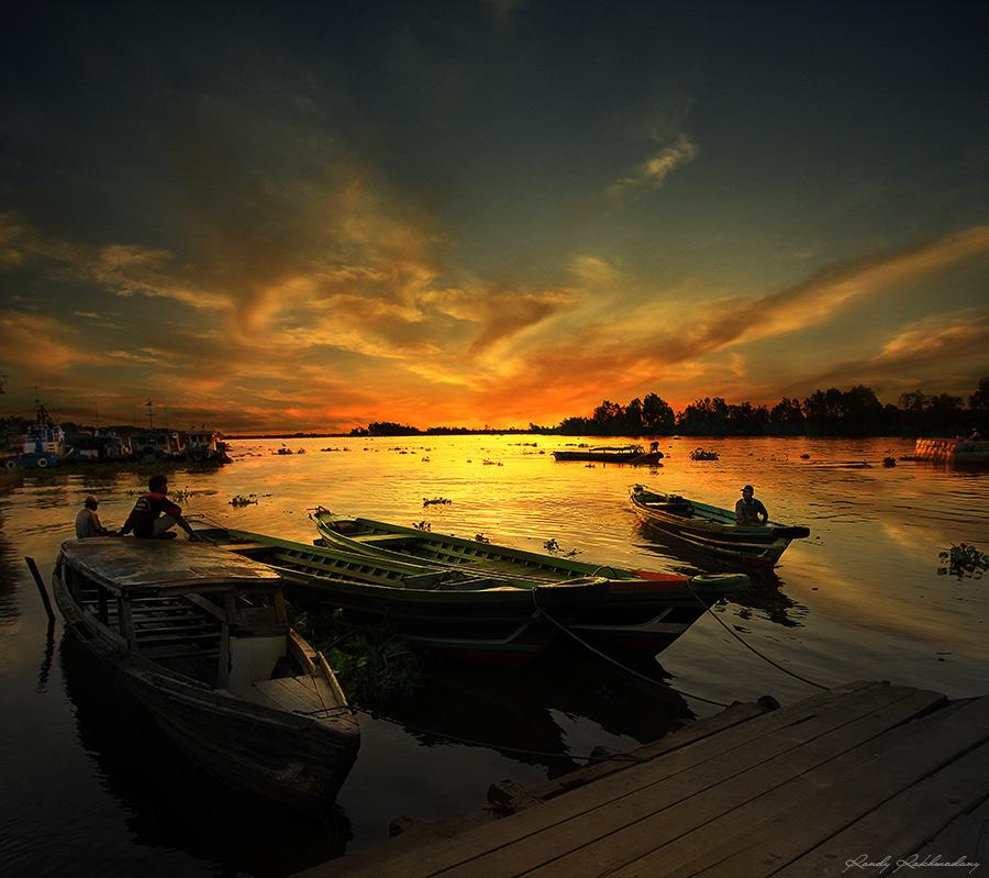 Barito River by randyrakhmadany