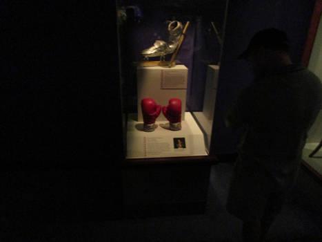 Muhammad Ali boxing gloves