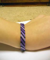 friendship bracelet - purple