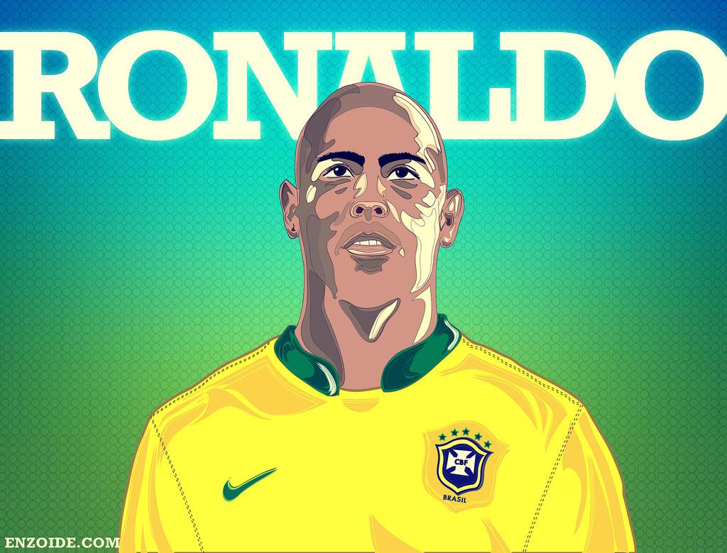 Ronaldo el fenomeno by Enzoide on DeviantArt